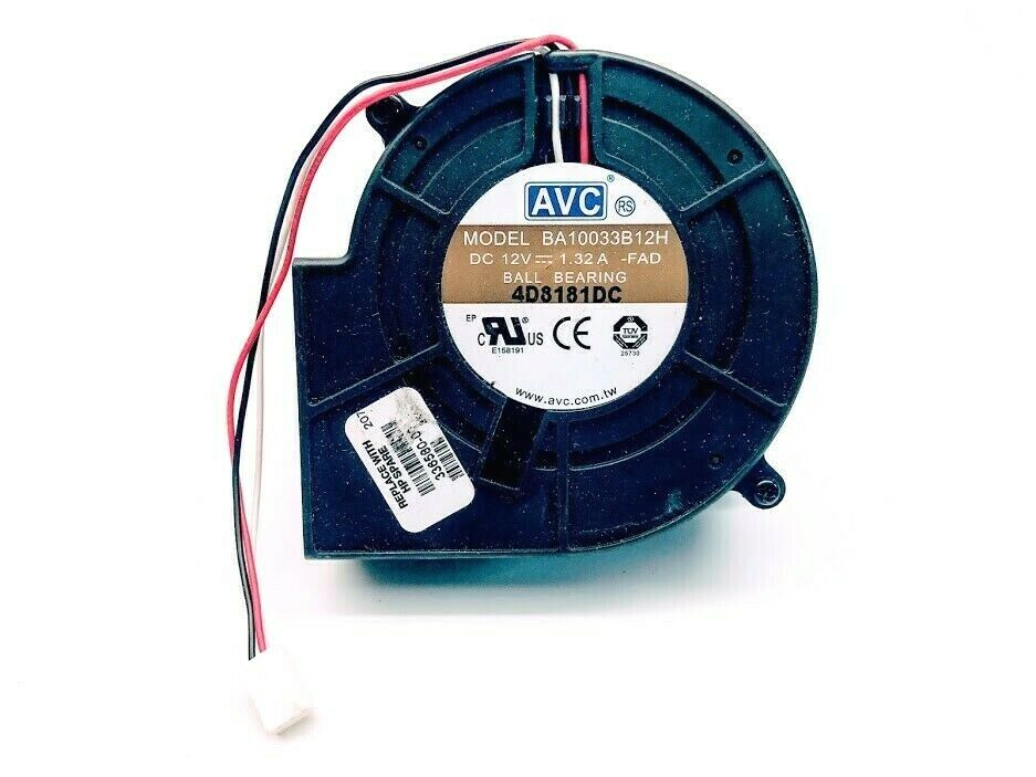 AVC 9733 BA10033B12H 12V 1.32A 4Wire Cooling Fan