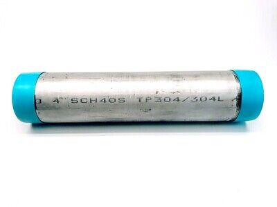 4x 20 Type 304 Threaded Stainless Steel Schedule 40 Pipe