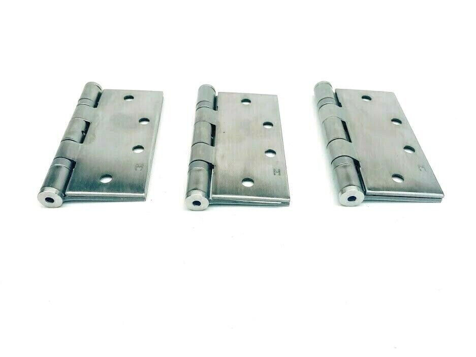 ASSA ABLOY McKinney Products MPB68 4 1//2 x 4 1//2 NRP US26D Hinge Steel Pack of 3
