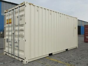 New 20' HIGH CUBE STORAGE CONTAINER. SEA CAN. SHIPPING CONTAINER