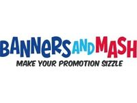Branded banners, flags, pull up banners, backdrops, entrance mats, signs, floor & window graphics