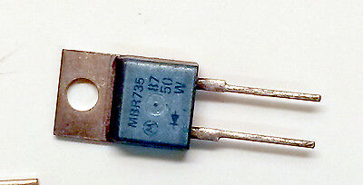 Mbr735 - Schottky Barrier Diode 7.5a 35v - Lot Of 10 - To-220ac Motorola