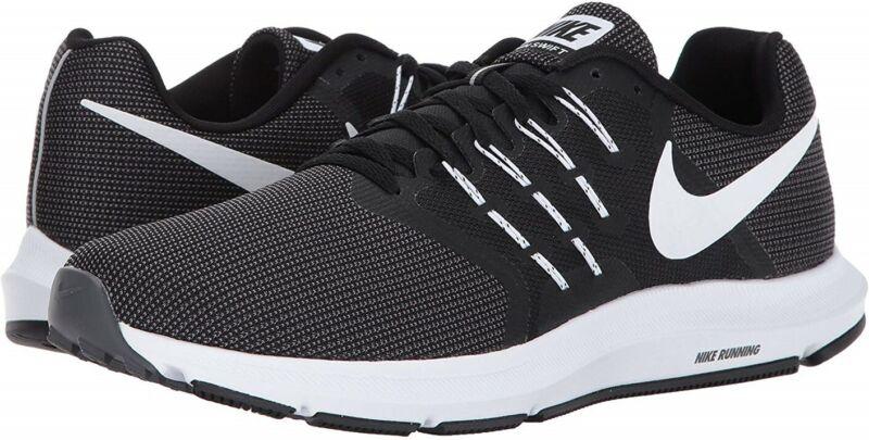 Details zu Nike Herren Run Swift Laufschuhe Schwarz Black White Dark Grey 001 GR 44