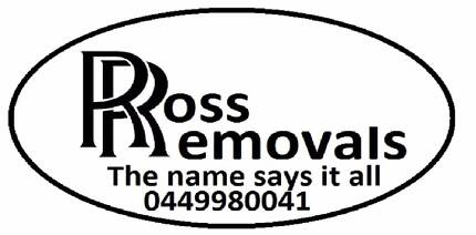 ROSS REMOVALS trip dates for next month truck with room Clontarf Redcliffe Area Preview