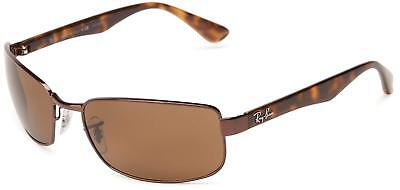 (Ray-Ban RB3478 014/57 Brown/Tortoise Frame Polarized Brown 60mm Lens Sunglasses)