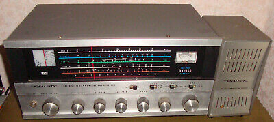REALISTIC RECEIVER DX-160 Working Order with Original Speaker