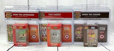 (3) Funko Pocket Pop! Trix, Lucky Charms, Sonny the Cuckoo Target Exclusive Toys