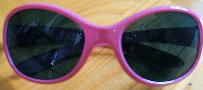Rosa Herzen Sonnenbrillen (Sonnenbrille für Mädchen, pink mit Herzen.)
