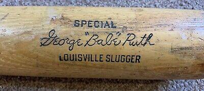 Vintage Babe Ruth Hillerich & Bradsby Louisville Slugger Baseball Bat Yankees