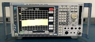 Rohde Schwarz Fsp13 K5k73b15k73 Spectrum Analyzer Fsp 9 Khz-13.6 Ghz Tested