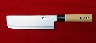 Chef Knife Kitchen Deba Japanese Sashimi Stainless Steel Rostfrei Cook Cutlery