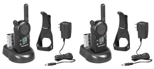 2 Motorola Cls1110 Uhf Business Two-way Radios.