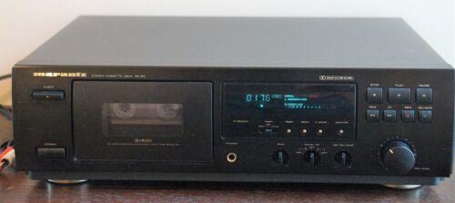 Marantz Stereo Cassette Deck SD-63, 3 Head Servo Controlled Motor Auto Tape Sel.