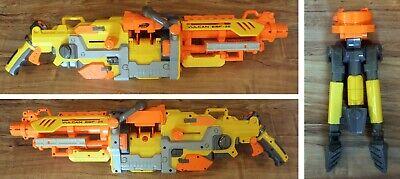 NERF Vulcan EBF-25 Blaster N-Strike Foam Dart Machine Gun + Tripod ----WORKS----