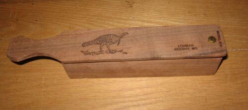 Vintage Lohman 870 Dual Chamber Wood Turkey Game Box Call Neosho MO