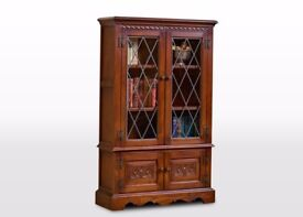 OLD CHARM Woods bros book case