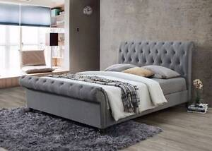 Brand New Fabric Bed Frame in Queen Melbourne CBD Melbourne City Preview