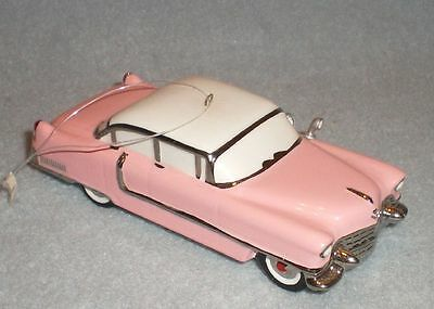 Car Badges Cadillac Eldorado 1955 Pink Pin Badge