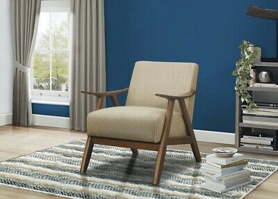 Homelegance Lexicon Fabric Upholstered Accent Chair, Brown