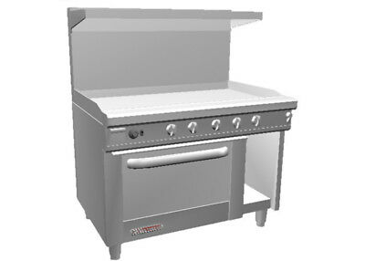 Southbend S48ac-4t 48 S-series Range W Convection Oven 48 Therm. Griddle