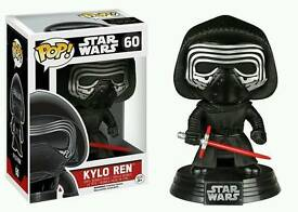 Star Wars Kylo Ren Pop! Vinyl Funko Bobble Head 60 Brand New
