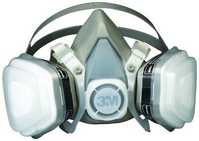 Paint Spray Mask Large Filter Approved Solvent Particulate Respirator Disposable