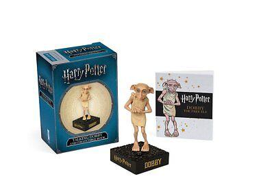 Dobby sprechende Miniatur (auf Knopfdruck) mit Stickerbuch (Harry Potter) Neu