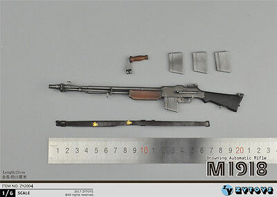 Used, 1/6 WWII The US Military M1918 BAR Light Machine Gun Weapon Model ZYTOYS ZY2004 for sale  Shipping to Canada