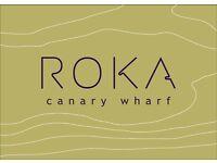 ROKA Canary Wharf - Commis Waiter