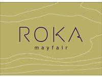 ROKA - Pastry Chef de Partie