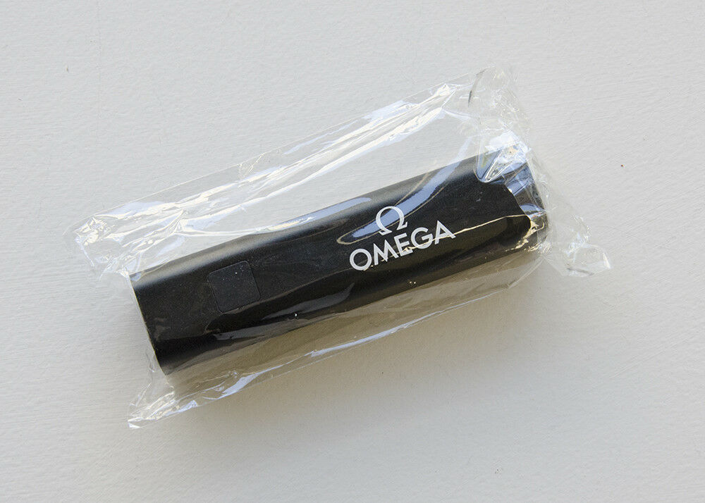 OMEGA Watches Portable Charger in Sleek Design with Original Packaging