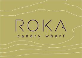 ROKA Canary Wharf - Waiter/ress