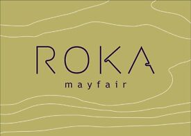 ROKA Mayfair- Commis Waiter