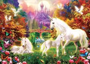 Sunsout Castle Unicorns Jigsaw Puzzle