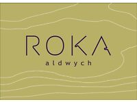 Roka Aldwych - Commis Waiter