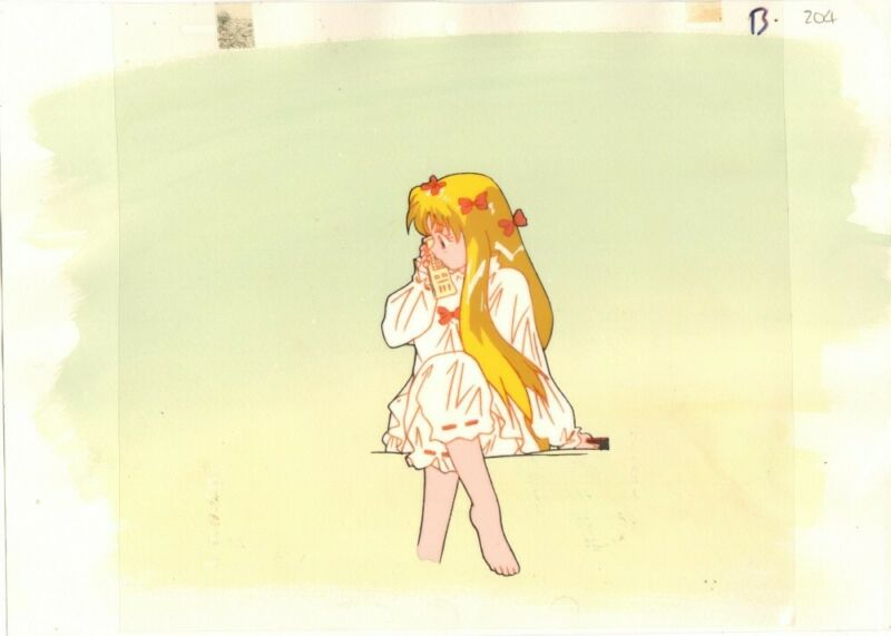Anime Cel Sailor Moon #1261