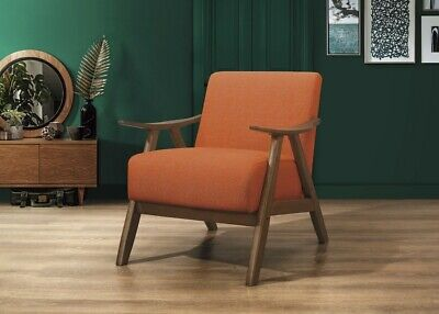 Homelegance Lexicon Fabric Upholstered Accent Chair, Organce