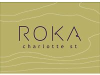 ROKA Charlotte Street - Cocktail Waiter / Waitress