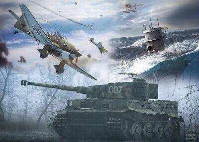 Panzer Panzerkampfwagen VI Tiger Stuka Ju 87 UBoot Wehrmacht Limitierte Edition