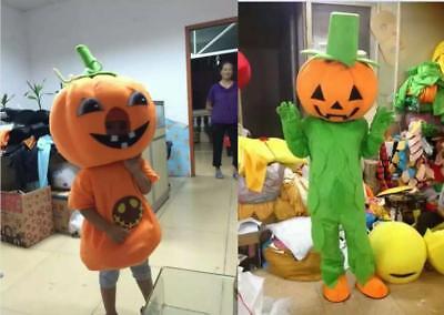 2018【Top Sale】Halloween Pumpkin Cartoon Mascot Costume Halloween Party Dress Gif - Halloween Party Gif