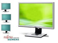 "FUJITSU SCENIC VIEW 22"" ADJUSTABLE HEIGHT MONITOR TFT LCD"