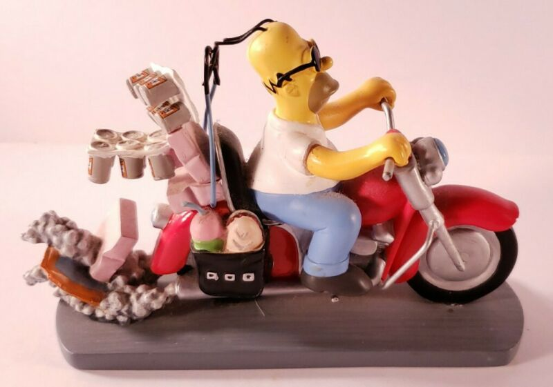 The Simpsons Misadventures Of Homer Sculpture Collection, Rebel Without A Donut