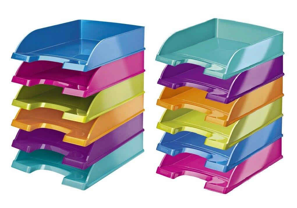 LEITZ 5226 Briefkorb Plus WOW, Briefablage für A4, Farbe wählbar