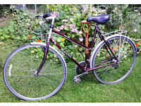 Large lightweight classic ladies bicycle