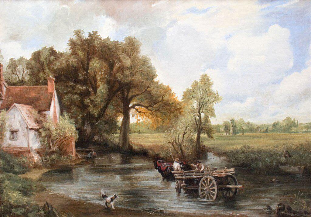 John Constable The Haywain John Constable - The H...