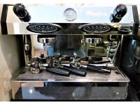 Professional 2 Group Automatic Espresso Coffee Machine Fracino Bambino BAM2E