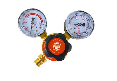 Sa - Propane Regulator Welding Gas Gauges - Cga-510 - Rear Connector - Ldp