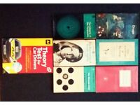 Psicology books+free theory test car driving book