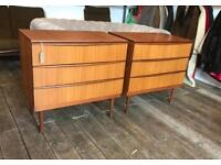 Pair Of Teak Chests