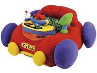 Baby sit up car